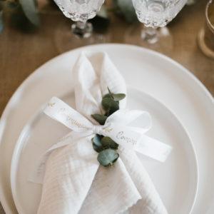 1-Ruban en satin blanc communion décoration petits cadeaux invités express