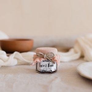 pots de confiture nude stickers bali cadeau personnalisé mariage