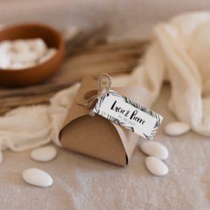 boite de dragées bali cadeau invité mariage