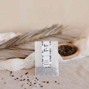 sachet graines à semer bali cadeau personnalisé mariage