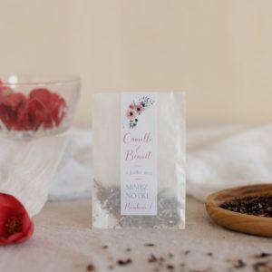 sachet graines à semer bloom cadeau personnalisé mariage