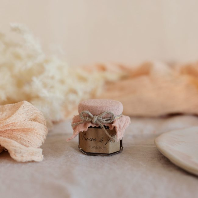 pot confiture nude stickers boheme cadeau personnalisé mariage