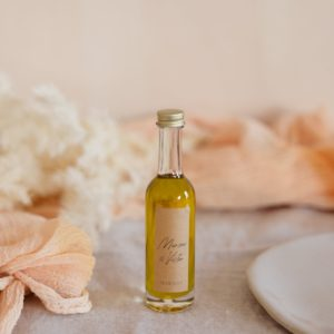 mignonnette huile d'olive de provence stickers boheme cadeau personnalisé mariage