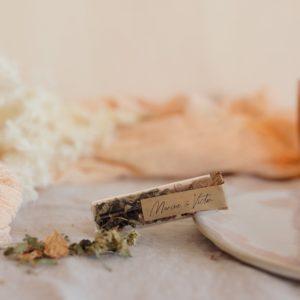 infusion de plantes stickers boheme cadeau personnalisé mariage