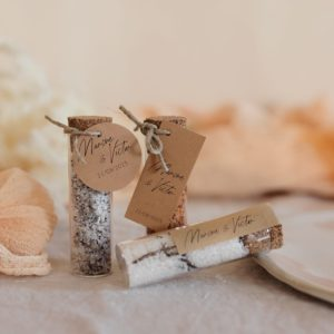 tube fleur de sel collection bloom cadeau personnalisé mariage
