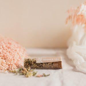 infusion plante stickers champetre cadeau personnalisé mariage
