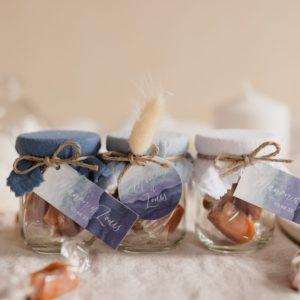 pot caramels collection deepblue cadeau personnalisé mariage