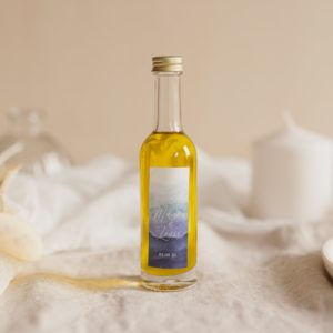 mignonnette huile olive stickers deepblue cadeau personnalisé mariage