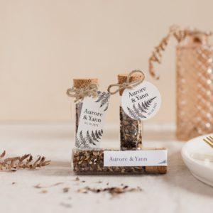 tube de graines à semer collection nature cadeau personnalisé mariage