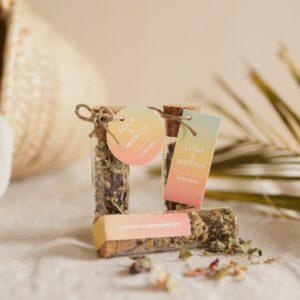 tube infusion fleur collection sunset cadeau personnalisé mariage