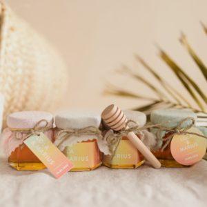 pot miel collection sunset cadeau personnalisé mariage