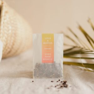 sachet de graines à semer sunset e cadeau personnalisé mariage