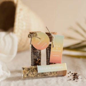 tube de graines à semer collection sunset cadeau personnalisé mariage
