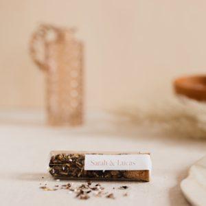 tube graines à semer stikers terracotta cadeau personnalisé mariage