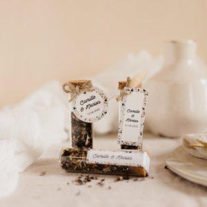 tube de graines à semer collection terrazzo cadeau personnalisé mariage